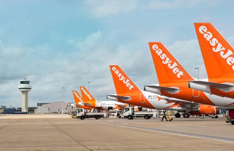 Easyjet bookings plunge 99.6% with fears the company may go bust
