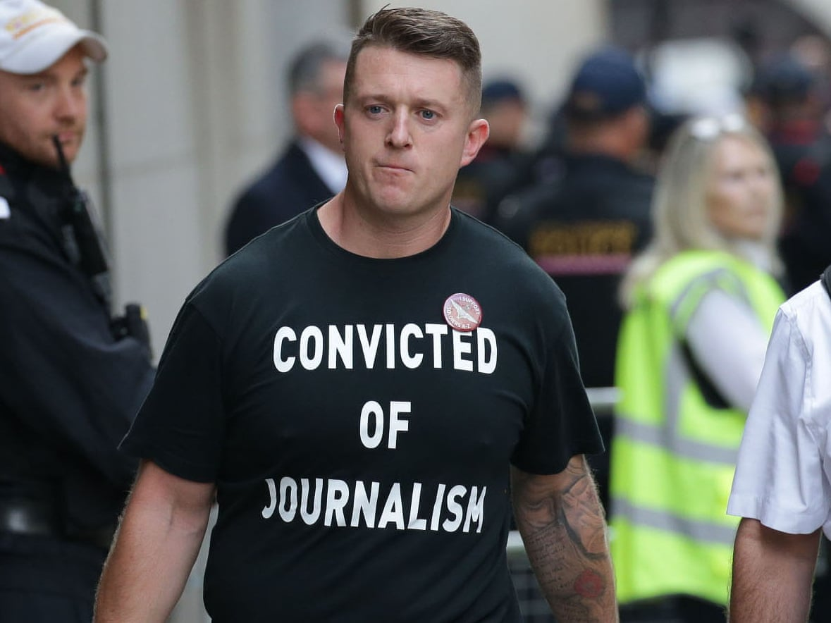 EDL Co founder Tommy Robinson Looking At Schools And Property On Spain's Costa Del Sol After Arson Attack