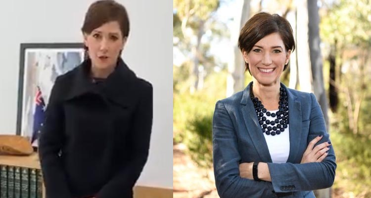 Video: Liberal Australian MP Nicolle Flint dons a Bin Bag Dress to defend women's expected appearance critisisms