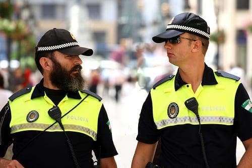 Brit attack Spaniards for being told to put face masks on whilst on Spain's Costa del Sol