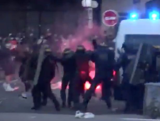 BREAKING: PSG fans riot in Paris after they lose Champions League final