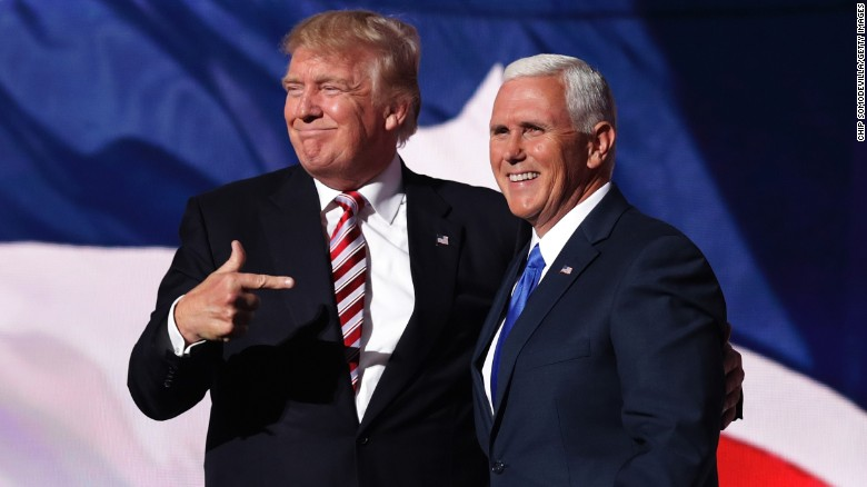 Trump and Pence thank America after getting backing of Republicans to lead them for another four years