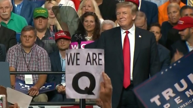 President Trump on QAnon movement: 'We can save the world!' and 'They really like me!'