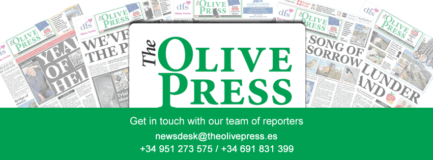 Spain's TRASH expat newspaper The Olive Press on the Costa del Sol gets it wrong YET AGAIN