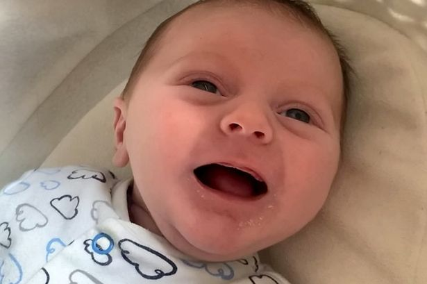 Video shows 'genius baby' from UK talking at eight weeks old
