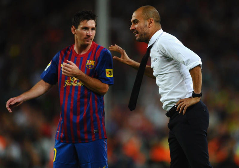 Lionel Messi close to signing for Man City after phonecall with Pep Guardiola