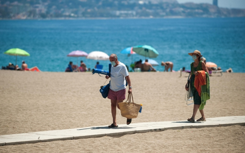 Spain's Marbella on Costa del Sol to close it's beaches from 9.30pm tonight