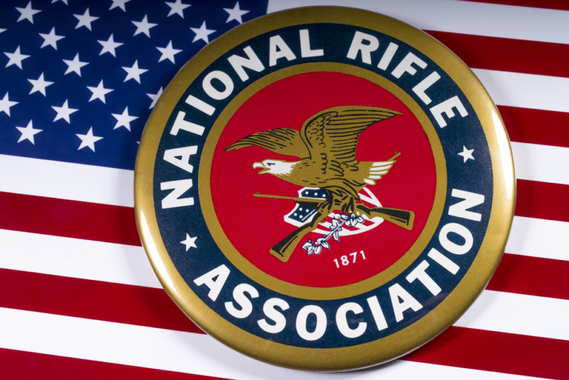 The National Rifle Association issues a counter-claim against New York and DC