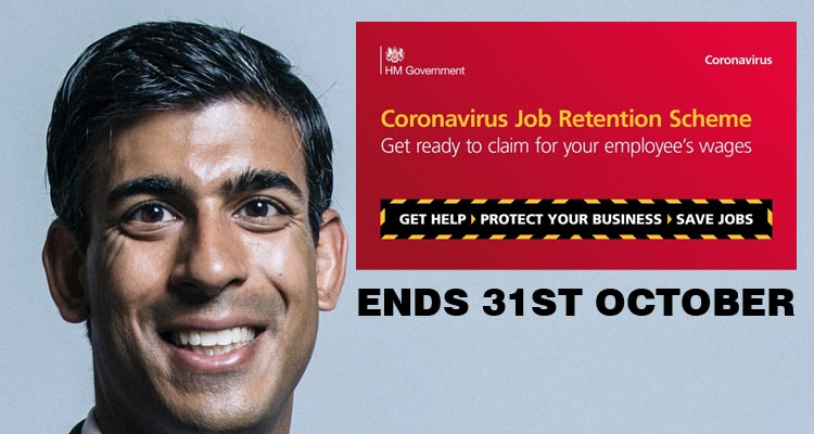 Nine Million furloughed jobs under threat after October 31st as Rishi Sunak confirms end to scheme