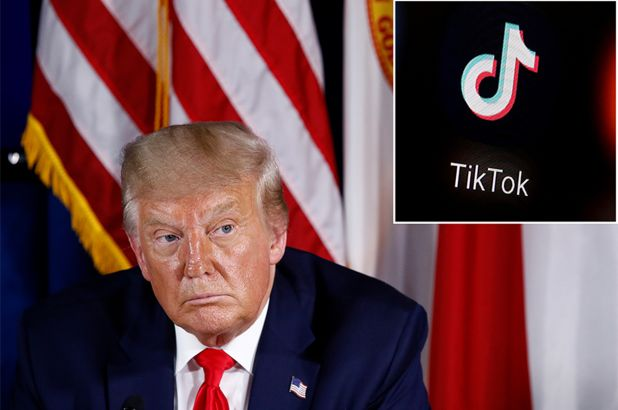 President Donald Trump Says TikTok Will Be Banned by Saturday in US