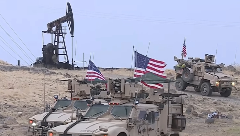 Syria accuses America of 'stealing oil' as they sign deal with Kurdish rebels