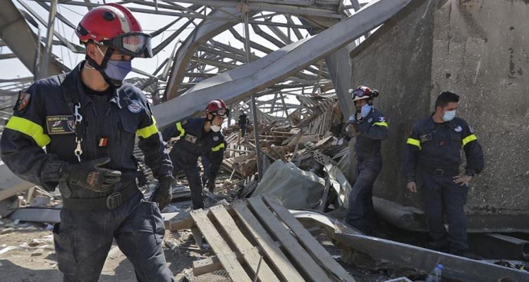 Hope for missing survivors of Beirut explosion as underground labyrinth discovered