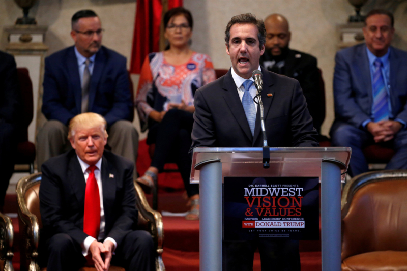 Michael Cohen calls President Trump 'a racist, a predator and a con man who wants to be 'leader for life' in new book