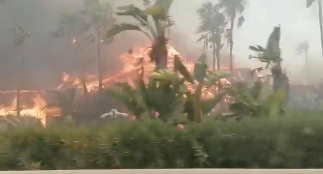 Laguna Village Fire Costa Del Sol Latest: Declared Level One Emergency