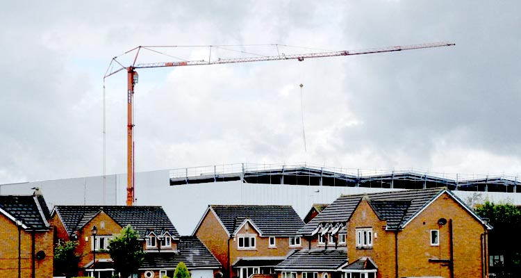 "Angry homeowners hit out against ""monstrosity"" being built behind their street"