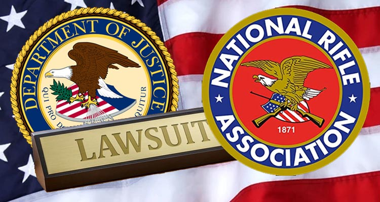 America's National Rifle Association sued for alleged misuse of charitable funds worth 64 million dollars including dinners and private jets