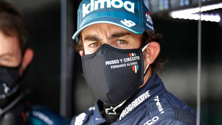 Spain's Motor Racing Fans Prepare For National Hero Fernando Alonso To Run The Indy 500 Today