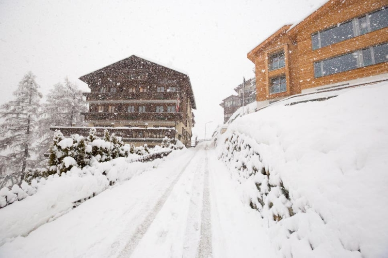 Chocolate falls from sky and covers Swiss town