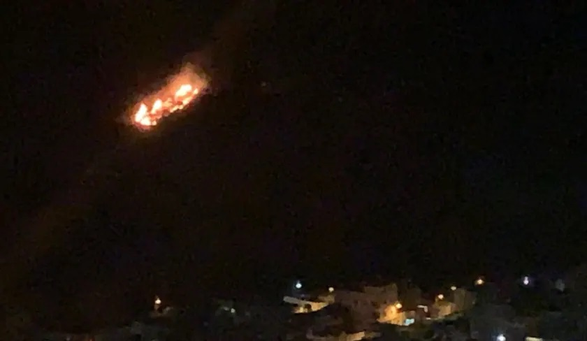 Breaking news: Israeli military conduct airstrikes on Syrian targets
