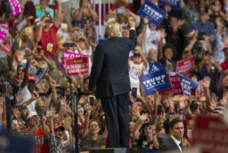 ABC journalist Jon Karl says going to Trump rally is like 'being in Fallujah'