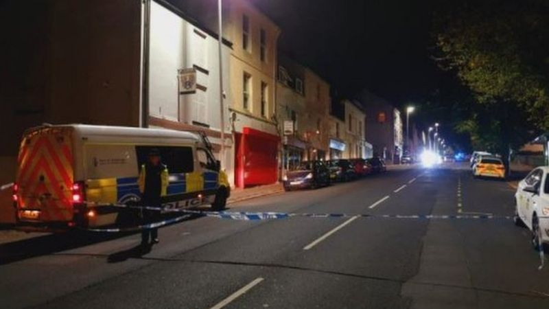 Plymouth's Railway Inn pub bust up sees 4 stabbed and one arrest for suspected murder