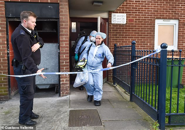 Violent sex offender appears in court after frozen bodies of his two female victims were found locked in freezer in apartment in England's London