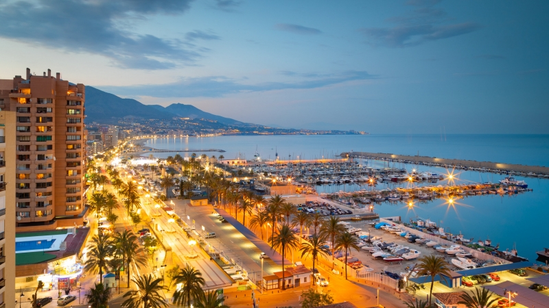 Fans of Spain's Fuengirola Costa del Sol get emotional as the town sits on the verge of collapse