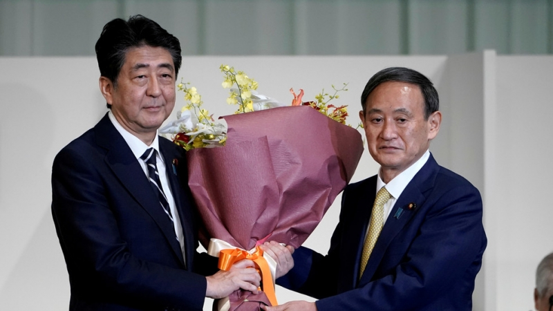 Japan's new prime minister is named after Shinzo Abe steps down