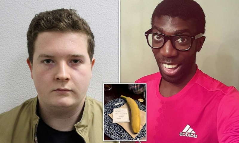 Black man 'shocked and ashamed' as pub customer in UK sends banana to his table via app