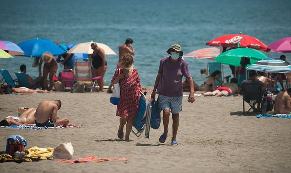 Spain's Costa del Sol Beaches Ordered To Close As Part Of Further Restrictions Announced