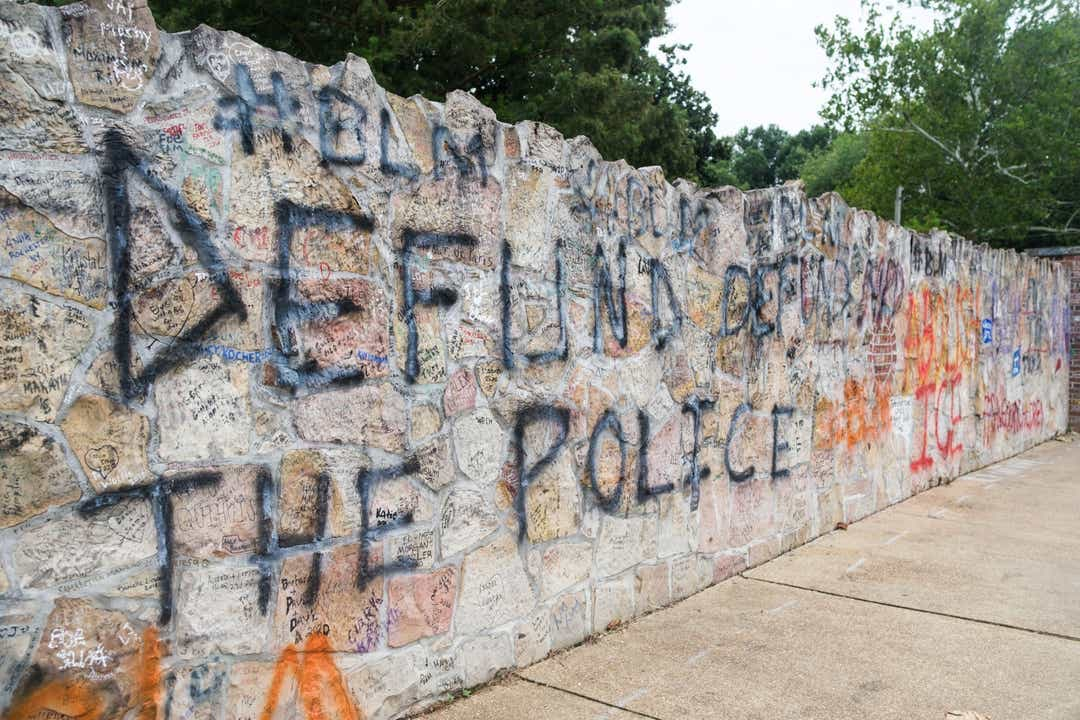 BLM and DTP protesters vandalise Elvis Presley's iconic Graceland