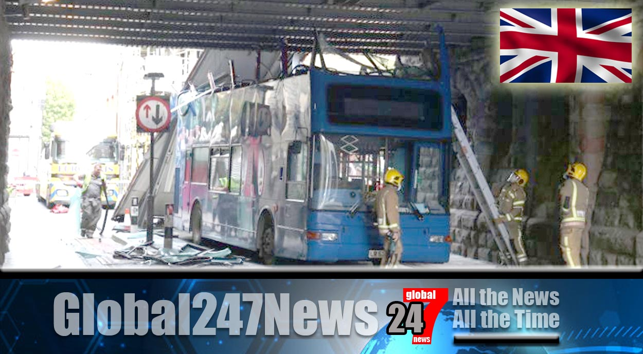 Second bus crash rips roof off the vehicle
