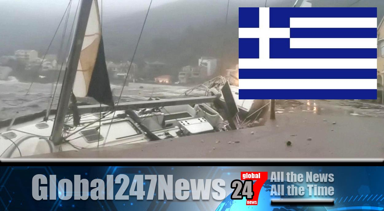Storm Ianos - Two dead after storm lashes Greece