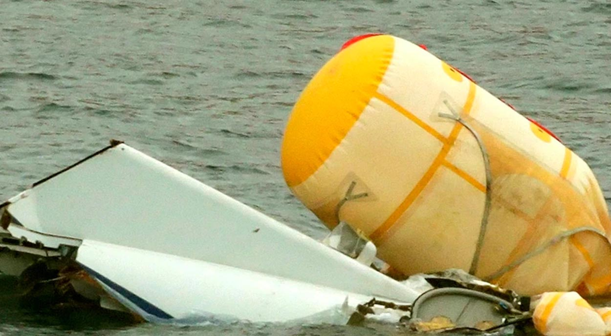 """Helicopter crash survivor said it sounded like it was """"tearing itself to bits"""""""
