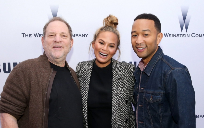 Chrissy Teigen who Tweeted that toddlers were 'sexy' appears in new primetime car advert with husband John Legend