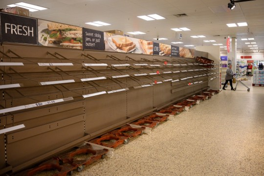UK Supermarkets Beg Customers Not to Stockpile After National Lockdown Fears