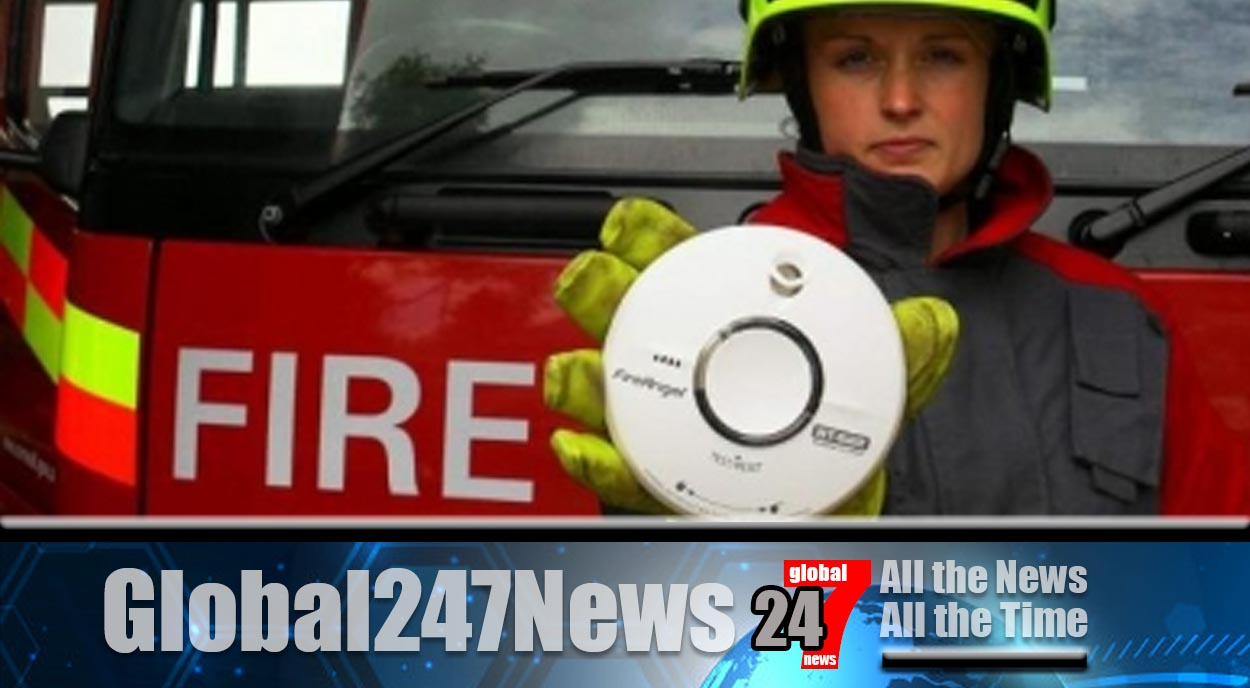 Smoke Detectors Save The Lives Of Camborne Family in Devastating Home Fire