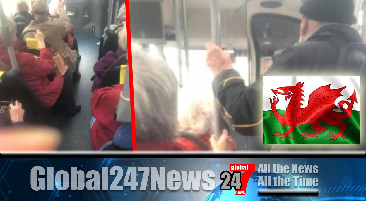 Shocking images from a Rhondda Cynon Taff Bus in Wales Leads To Online Appeal