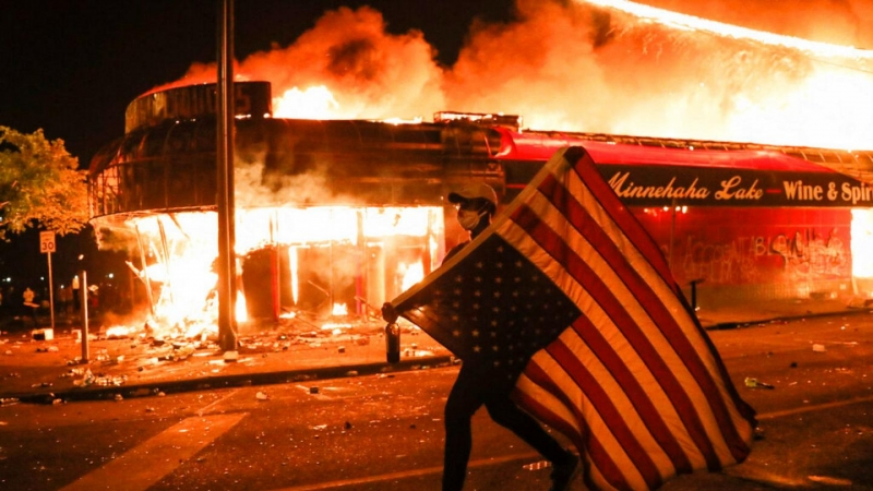 BLM protests: Rioters to be treated with velvet gloves after journalists told not to call them 'rioters' but less abusive words in newest Orwellian guidelines