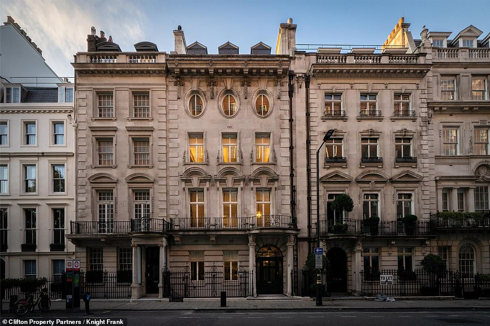 London's most expensive property goes on market for over 54 million pounds