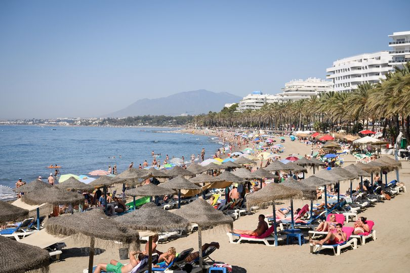 British tourist fighting for life after being shot in the face in Spain's Marbella