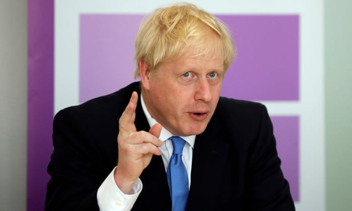 The new normal: Boris Johnson calls the Covid-19 virus 'the plague' and says the UK will 'have to change to the new world'