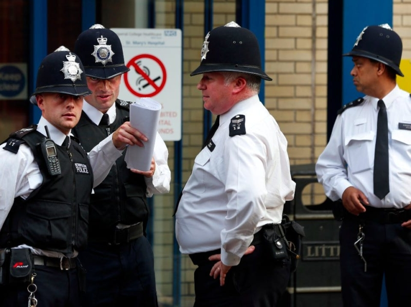 British cops start issuing large flouting fines