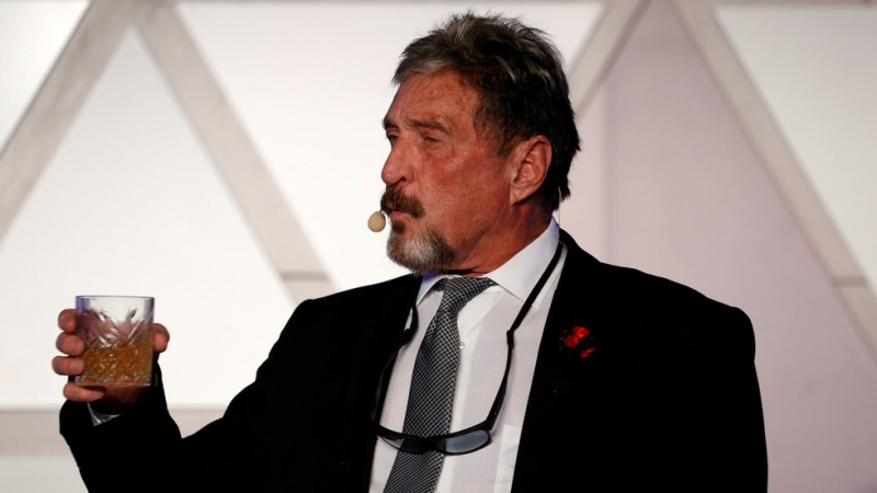 """Taxes are illegal!"" McAfee software owner arrested in Spain over tax evasion in the United States"