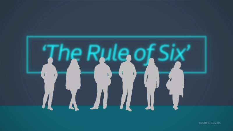 "Man sets up £6 business to employ family and avoid ""rule of six"""