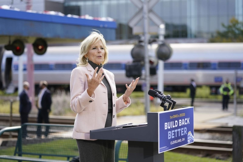 Jill Biden to campaign in Texas believing the Democrats can flip the state with black and latino votes