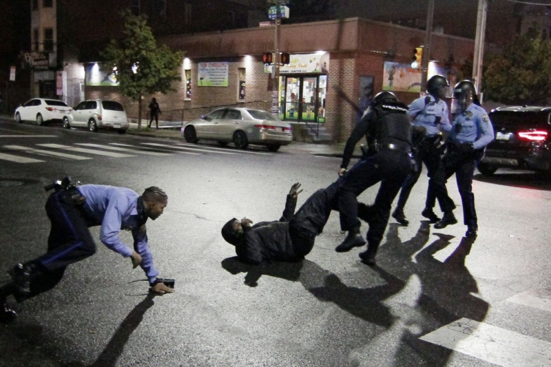 Walter Wallace shooting: Police officers injured during riots after black man killed in Philadelphia, Pennsylvania