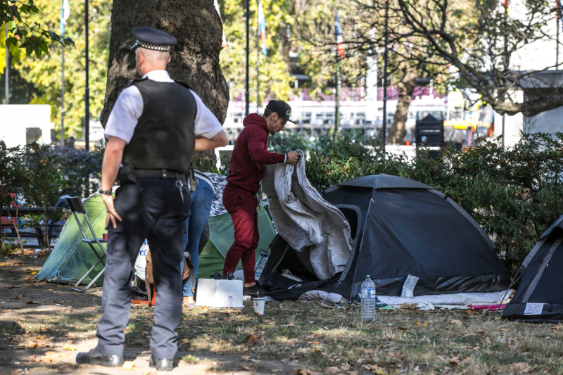 Tent cities no more: Homeless foreigners to be deported once Britain leaves the EU