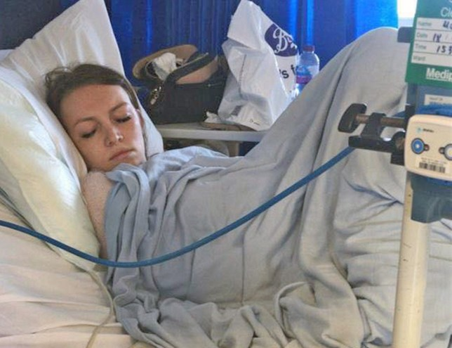 Forgotten Tampon Nearly Kills 24 year old Amy Williams From Essex