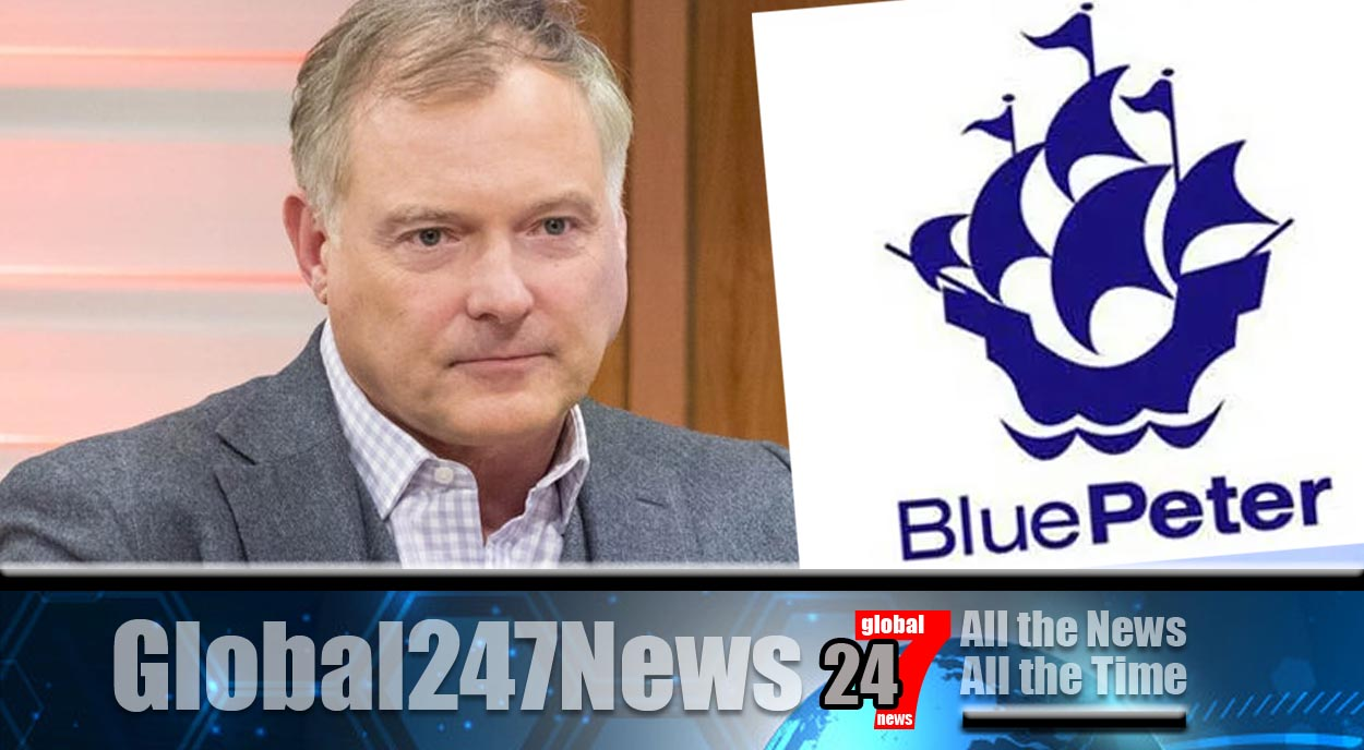 John Leslie, a former presenter on the popular children's program Blue Peter, laughed as he groped a woman at a Christmas party.